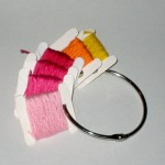 Embroidery Floss Ring