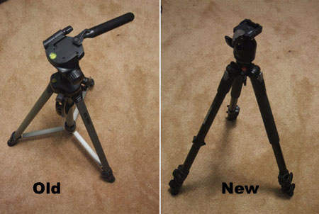 Old and New Tripod