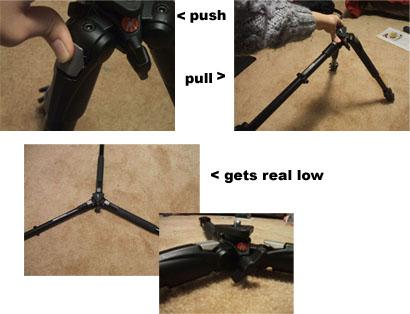 Tripod Legs Low