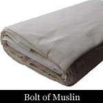 Bolt of Muslin Fabric